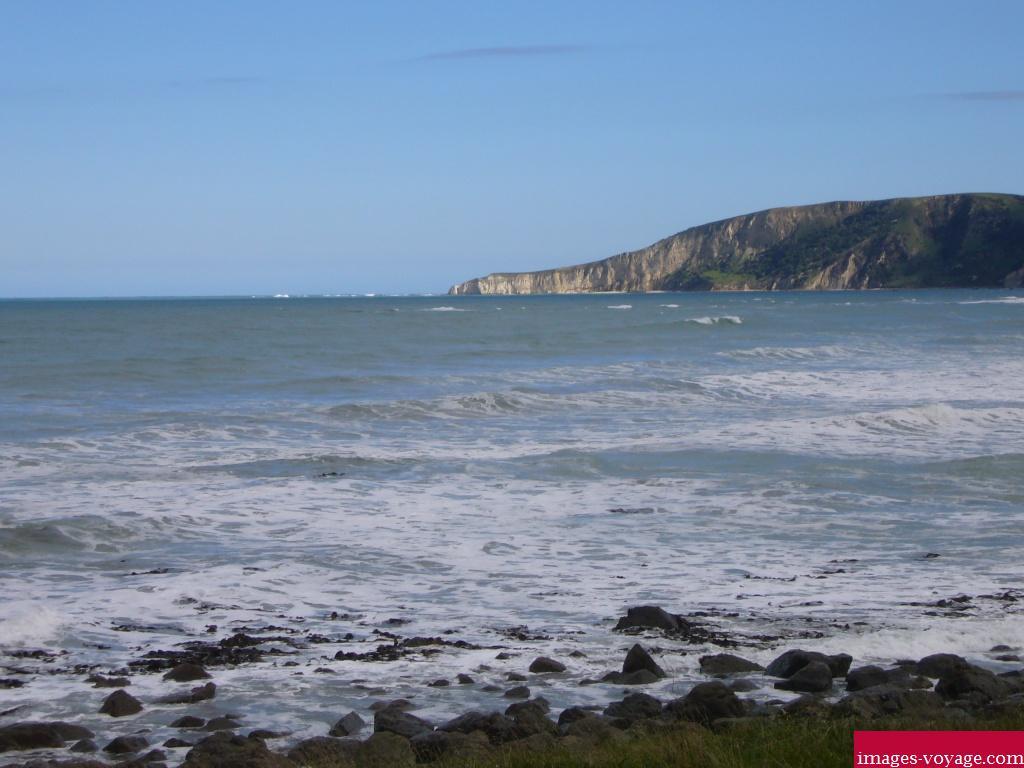 La mer de la Nouvelle Zélande