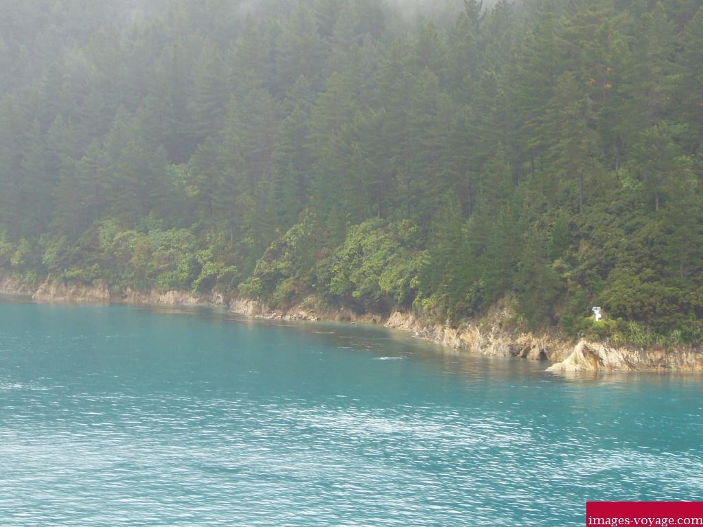 Paysage en Nouvelle Zélande