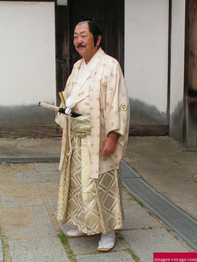 Le propriétaire du château de Himeji-Jô