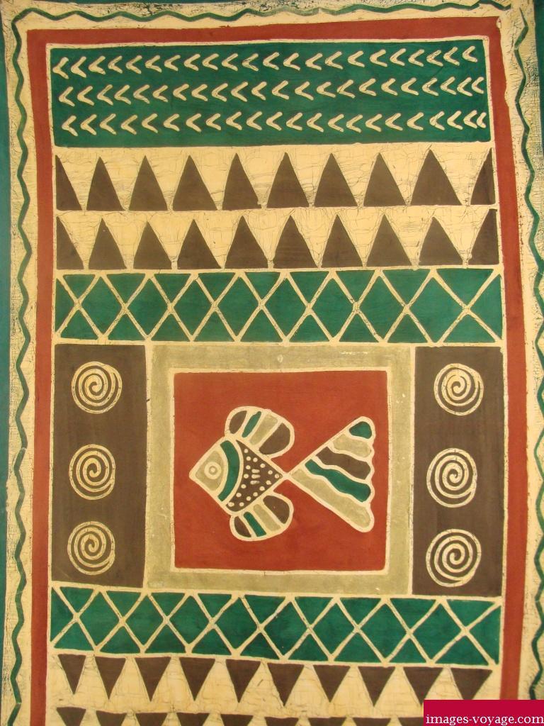 Batique: artisanat ougandais