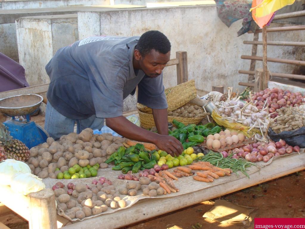 Embarras du choix au marché à Mandritsara