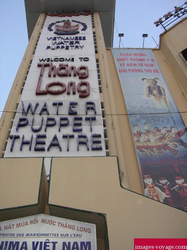 Théâtre des marionnettes sur l'eau