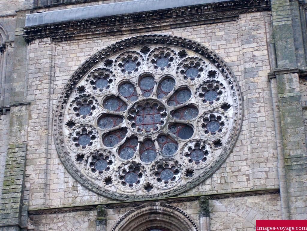 Rosace de la Cathédrale Notre-Dame de Chartres